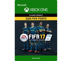 MICROSOFT Xbox One FIFA 17 Ultimate Team - 2200 FIFA Points