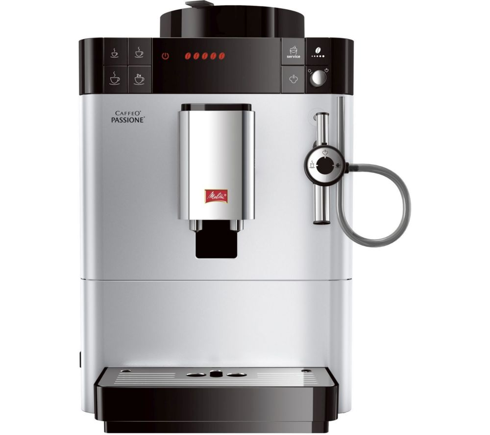 MELITTA Caffeo Passione F53/0-101 Bean to Cup Coffee Machine - Silver