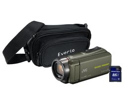 JVC GZ-R435 Camcorder Kit - Green