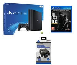 PLAYSTATION 4 PlayStation 4 Pro, Twin Docking Station & The Last of Us Remastered Bundle