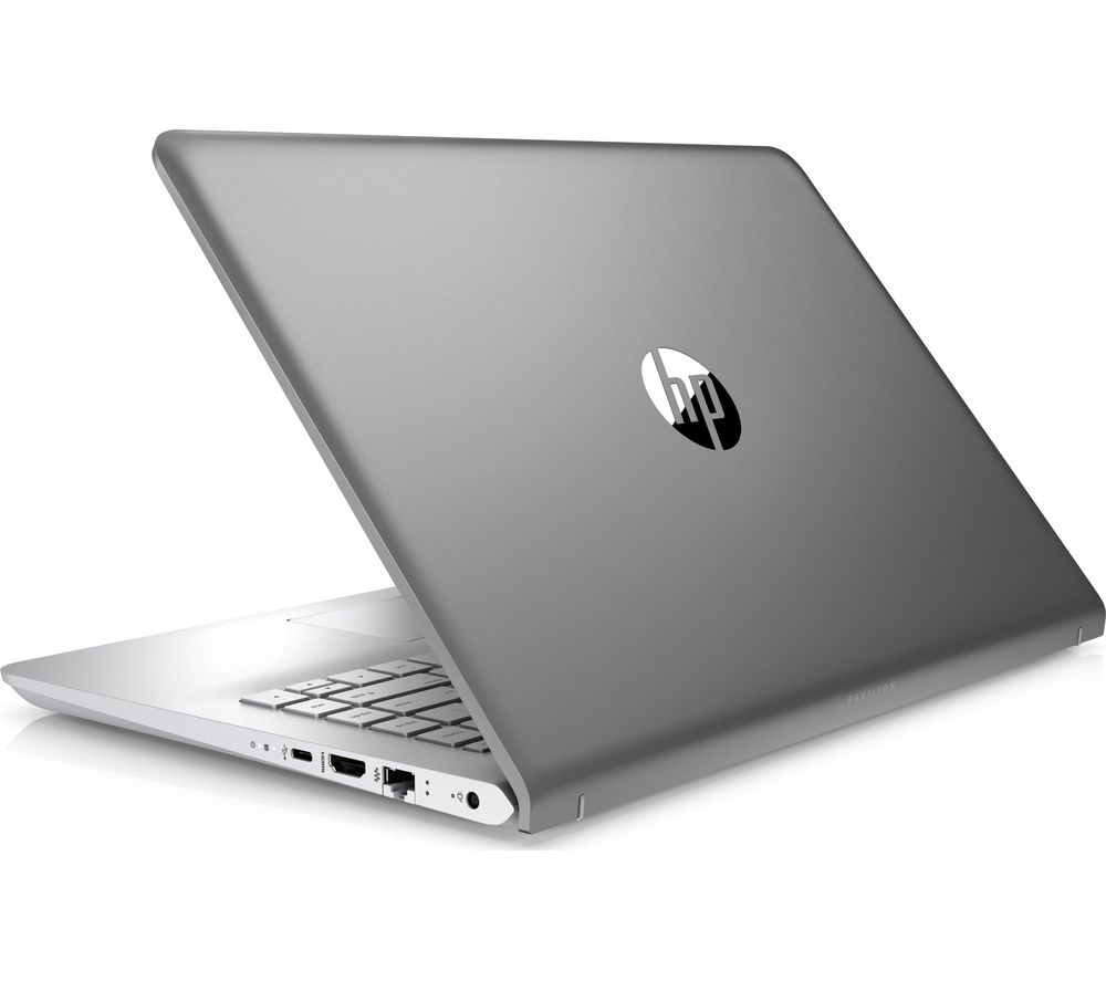 buy hp pavilion 14 bk052sa 14 laptop silver free delivery currys. Black Bedroom Furniture Sets. Home Design Ideas
