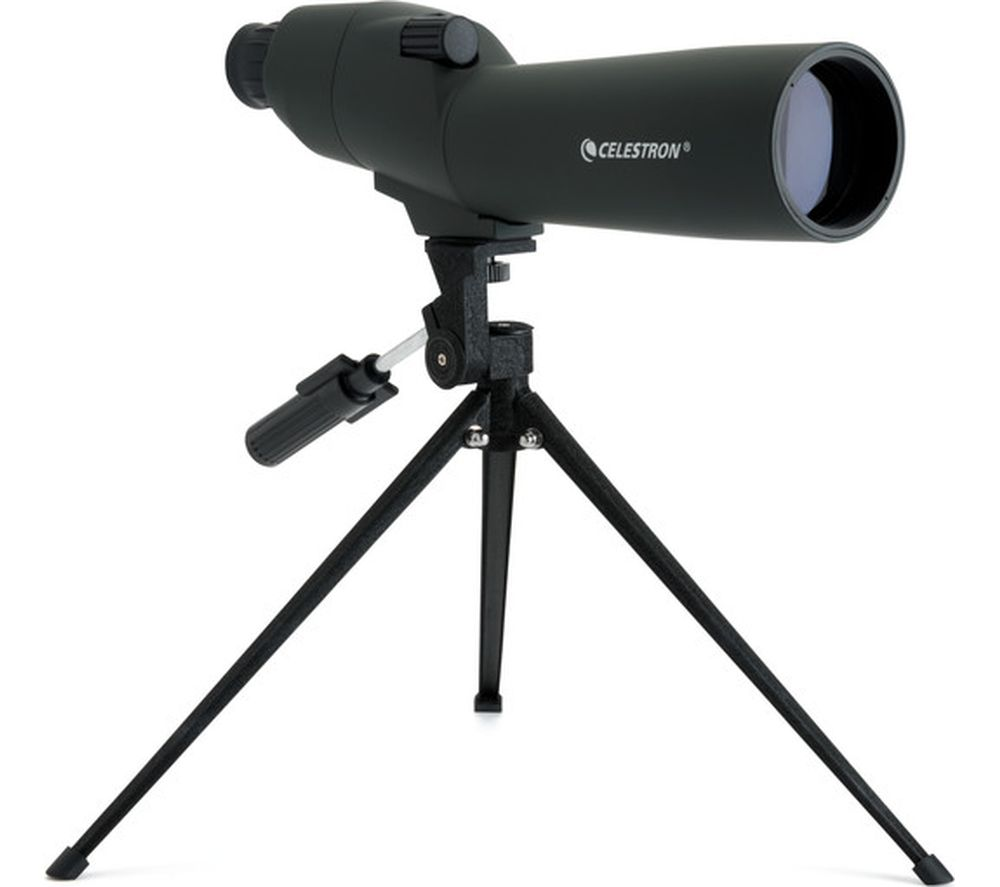 CELESTRON Upclose 52229-CGL 20-60 x 60 mm Spotting Scope - Black