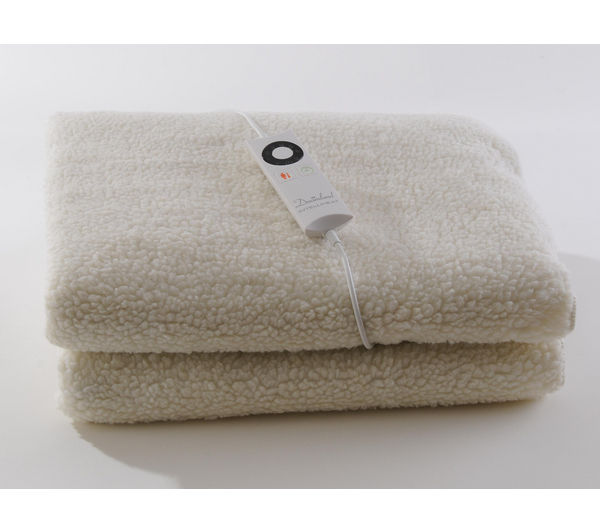 buy dreamland intelliheat fleece mattress protector. Black Bedroom Furniture Sets. Home Design Ideas