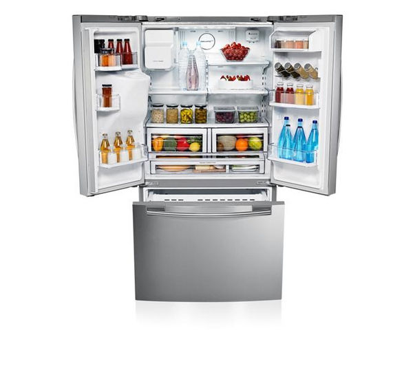 Buy Samsung Rfg23uers American Style Fridge Freezer Real