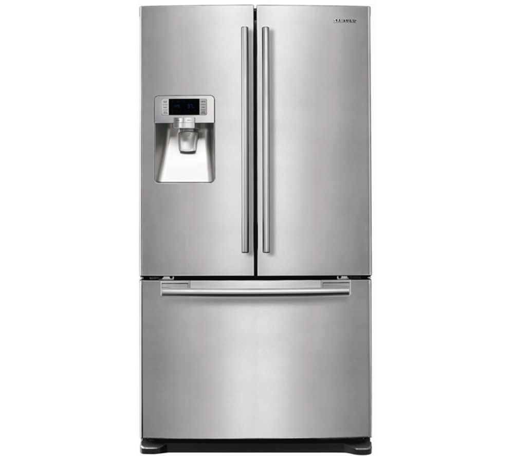 Buy SAMSUNG RFG23UERS American-Style Fridge Freezer - Real