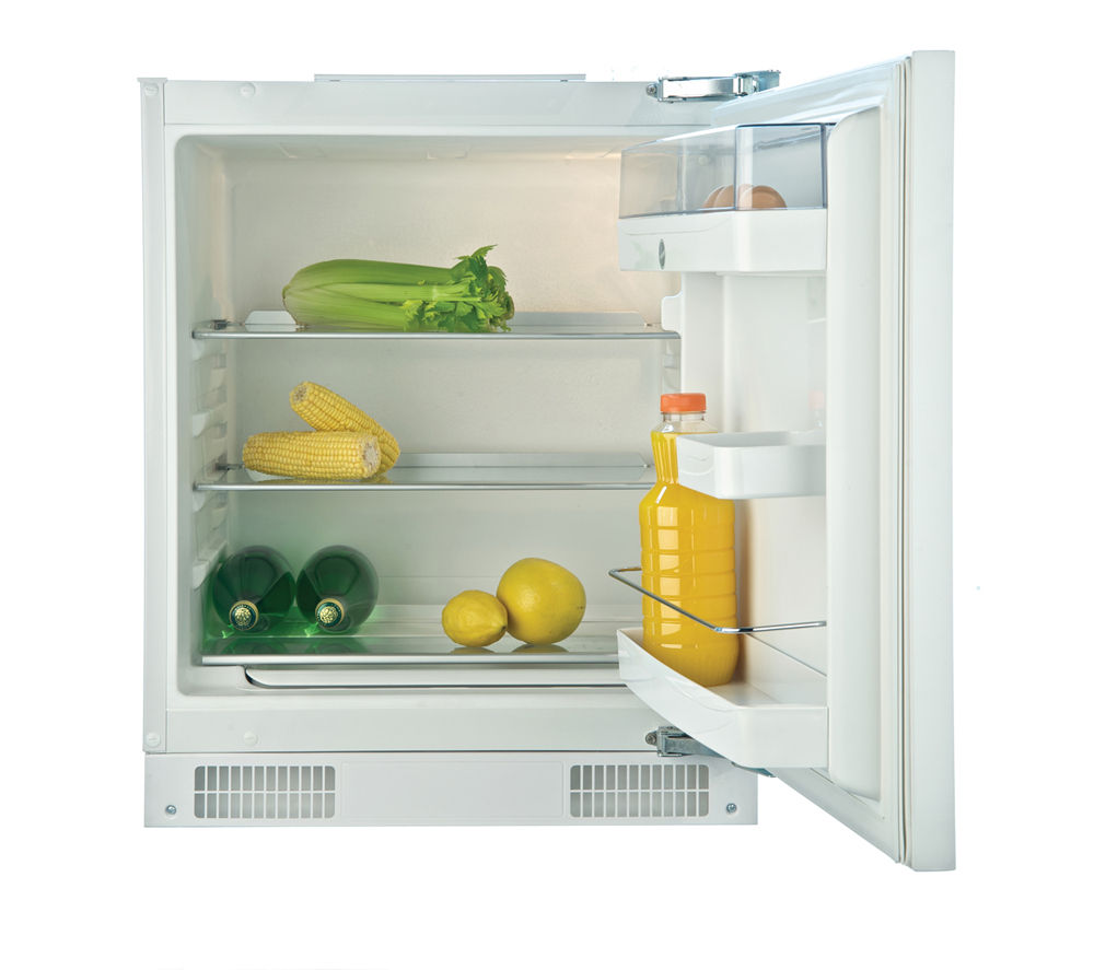 HOOVER HBRUP160K Integrated Undercounter Fridge