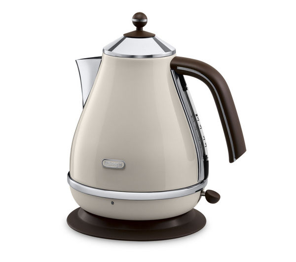 buy delonghi icona vintage kbov3001bg jug kettle cream free delivery currys. Black Bedroom Furniture Sets. Home Design Ideas
