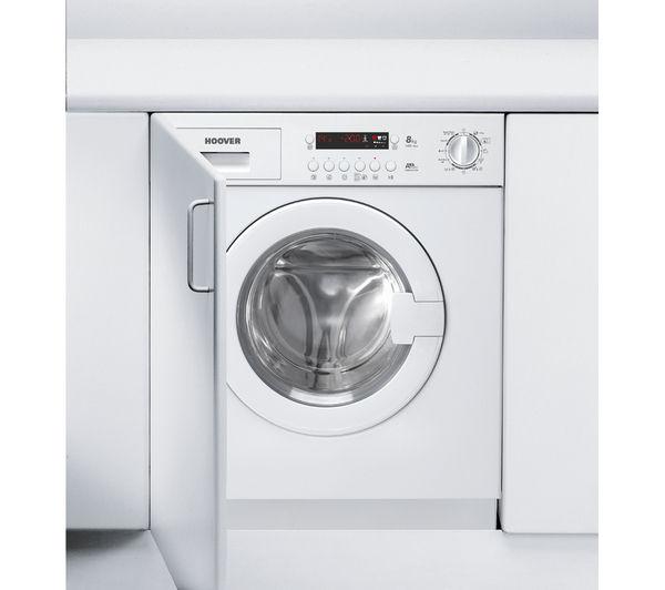 buy hoover hwb814dn1 integrated washing machine free. Black Bedroom Furniture Sets. Home Design Ideas