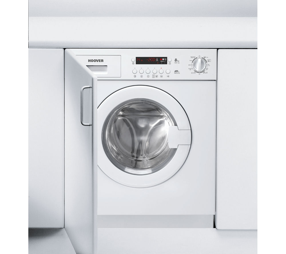 Buy HOOVER HWB814DN1 Integrated Washing Machine | Free ...