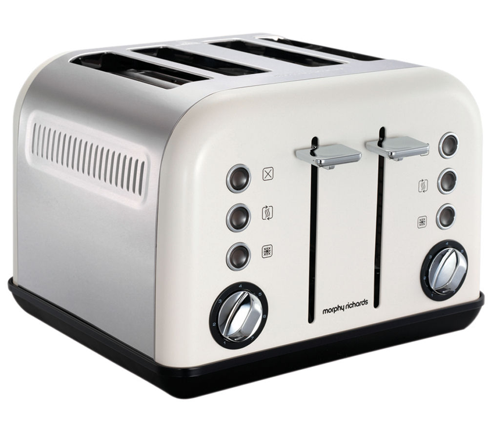 Morphy Richards Toaster: Buy MORPHY RICHARDS Accents 242005 4-Slice Toaster