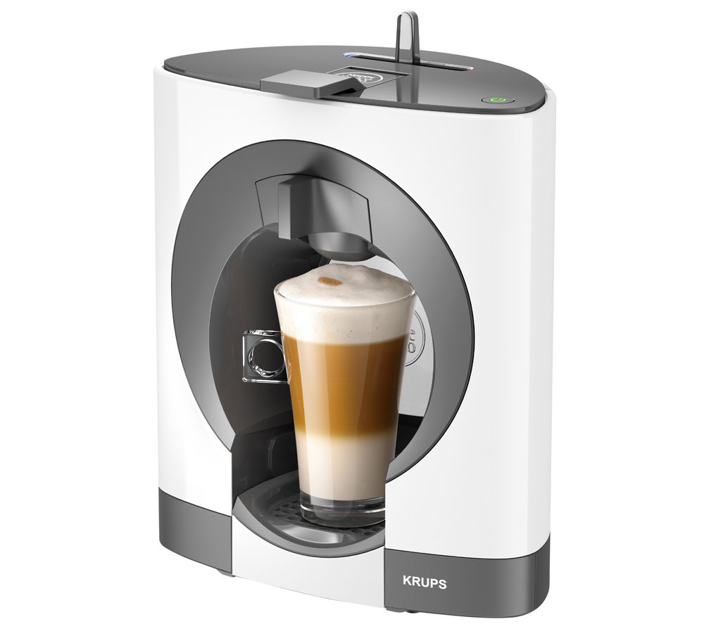 buy krups dolce gusto oblo kp110140 hot drinks machine white free delivery currys. Black Bedroom Furniture Sets. Home Design Ideas