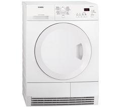 AEG T61275AC Condensor Tumble Dryer - White