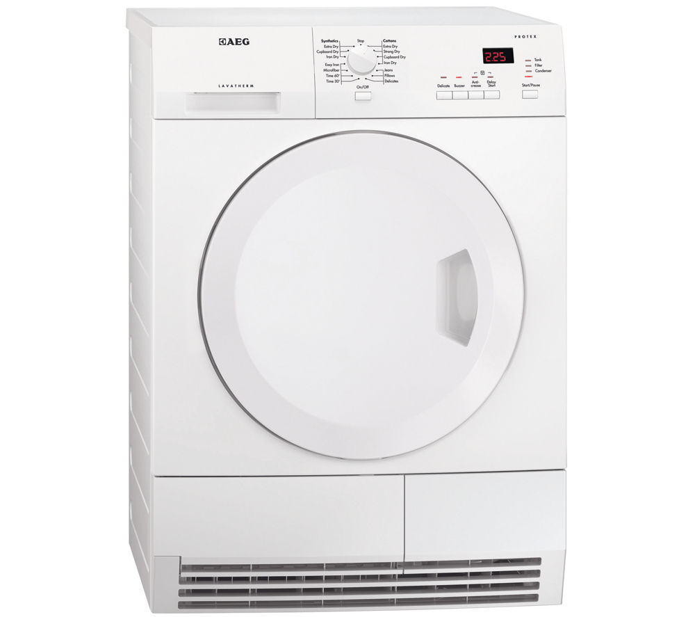 AEG  T61275AC Condensor Tumble Dryer  White White