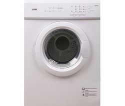 LOGIK LVD7W15 Vented Tumble Dryer - White