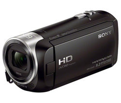 SONY Handycam HDR-CX405 Full HD Camcorder - Black