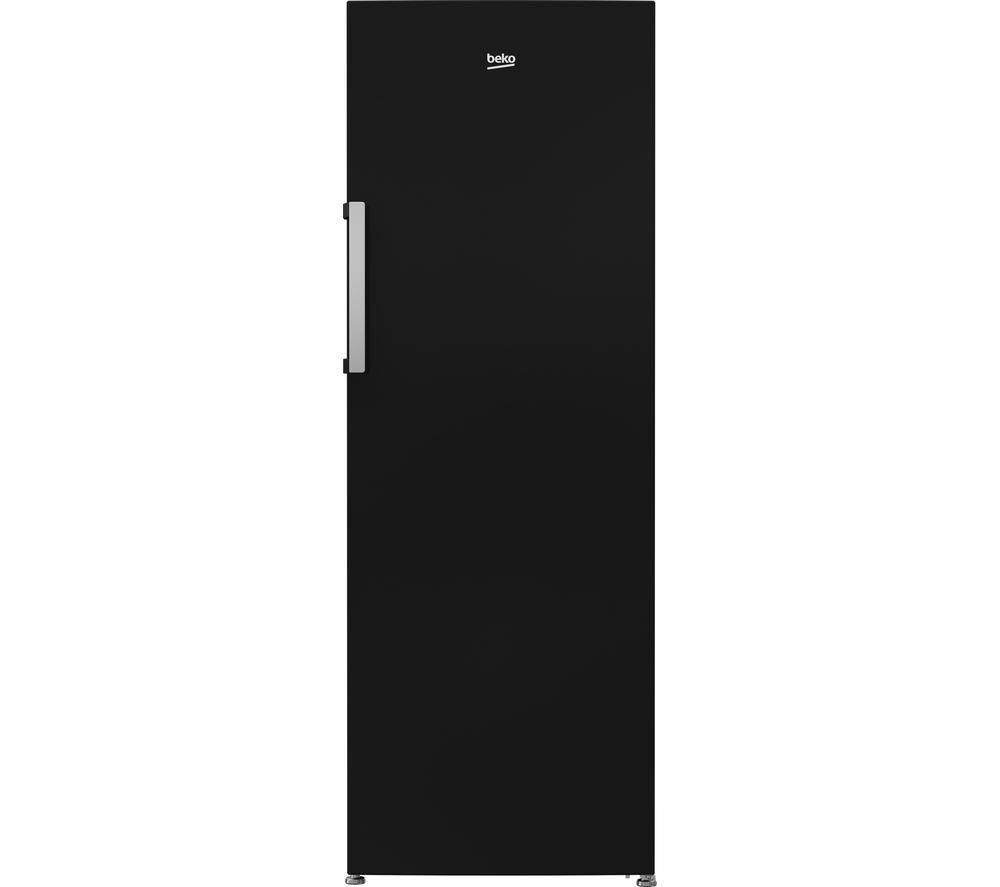 BEKO  FFP1671B Tall Freezer - Black +  Select DSX83410W Heat Pump Tumble Dryer - White