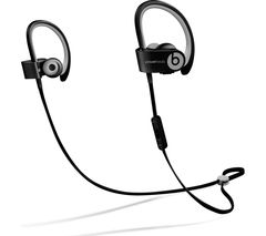 BEATS BY DR DRE Powerbeats² Wireless Bluetooth Headphones - Matte Black