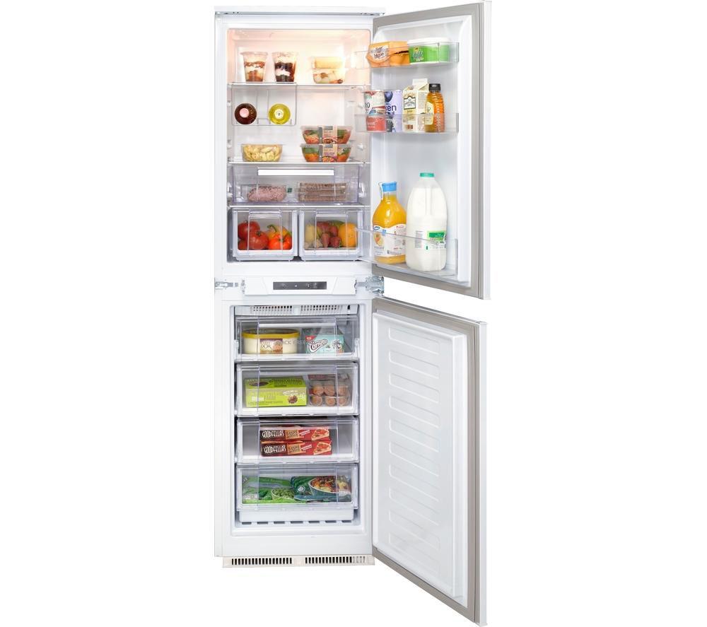 hotpoint hff31014 integrated 50 50 frost free fridge. Black Bedroom Furniture Sets. Home Design Ideas