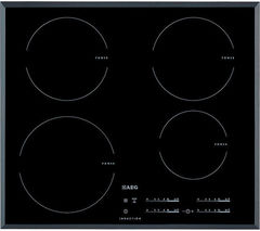AEG OptiHeat HK654200FB Electric Induction Hob - Black