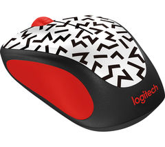 LOGITECH Zigzag M238 Wireless Optical Touch Mouse - White & Black