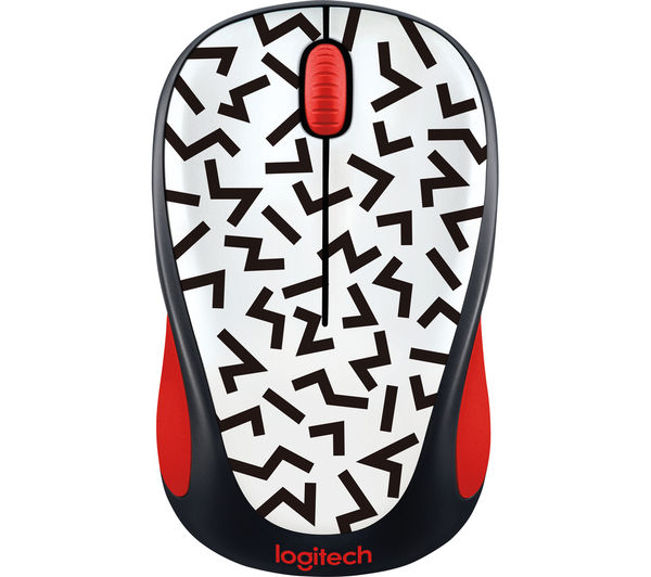 Image of LOGITECH Zigzag M238 Wireless Optical Touch Mouse - White & Black
