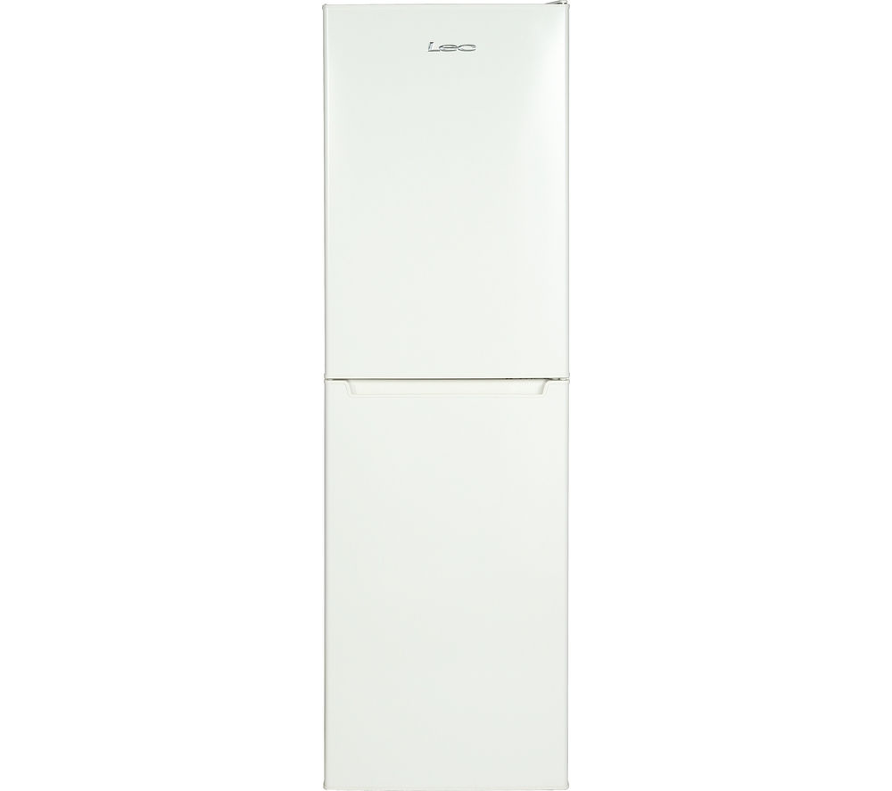 LEC  TS55184W Fridge Freezer  White White