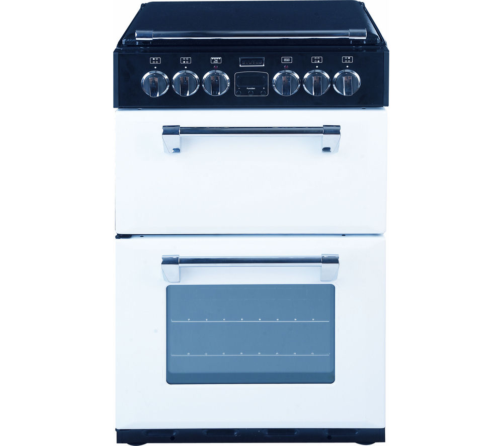 buy stoves richmond 550dfw dual fuel cooker white free. Black Bedroom Furniture Sets. Home Design Ideas