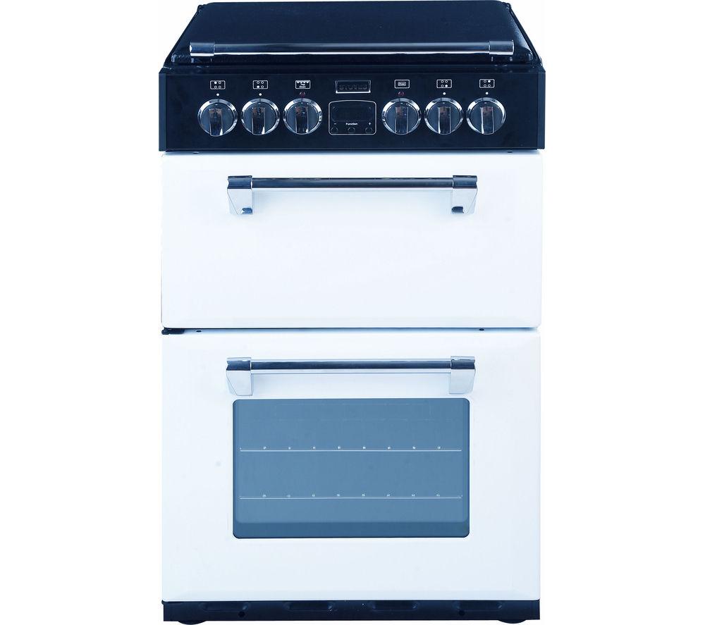 STOVES  Richmond 550DFW Dual Fuel Cooker  White White