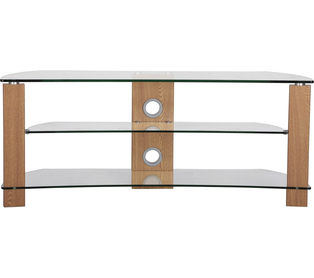 TTAP  Vision Curve 1400 TV Stand  Oak