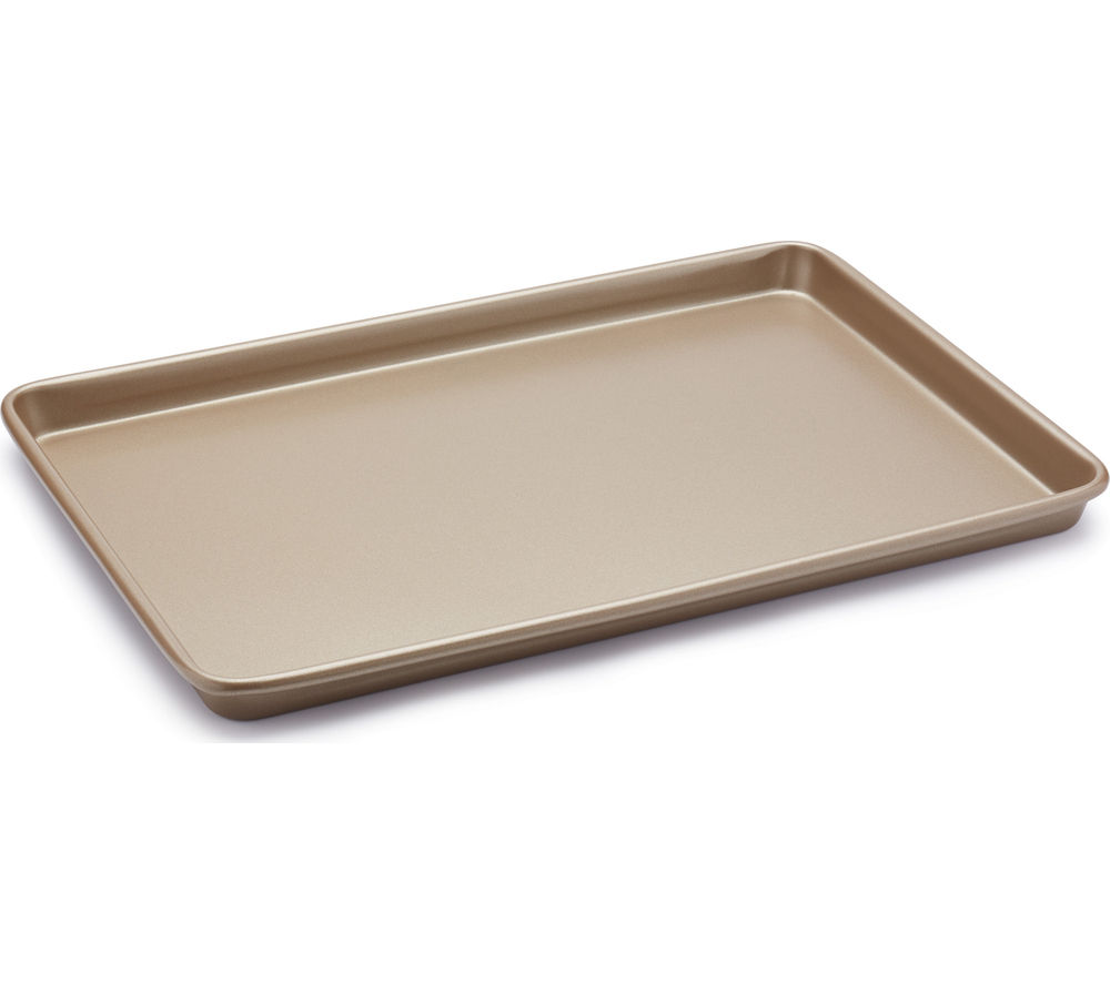 Image of PAUL HOLLYWOOD 39 x 27 cm Non-stick Baking Tray - Champagne
