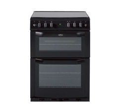 BELLING FSG60DOP Gas Cooker - Black