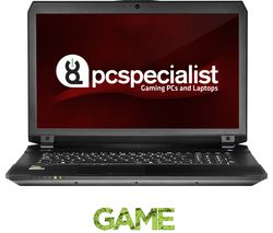 """PC SPECIALIST Defiance III RS17-X 17.3"""" Gaming Laptop - Black"""