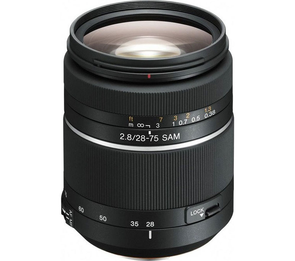 SONY 28-75 mm f/2.8 SAM Standard Zoom Lens