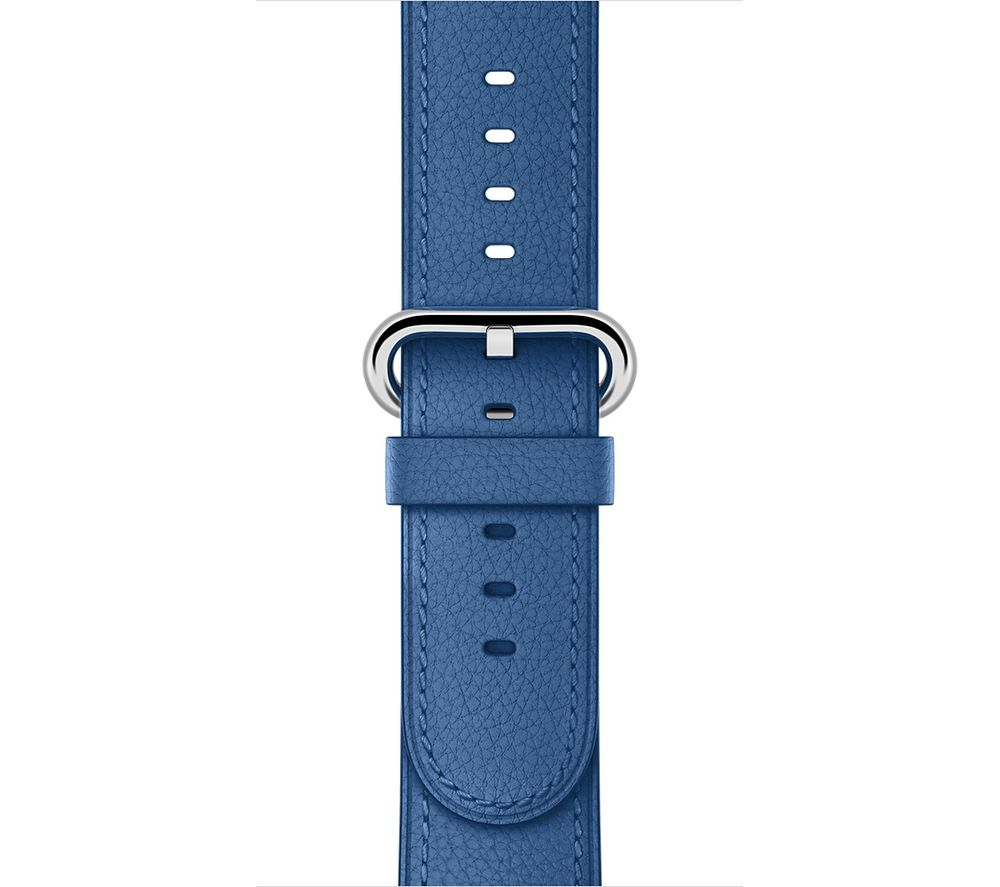 Image of APPLE Watch 38 mm Sea Blue Classic Band, Blue