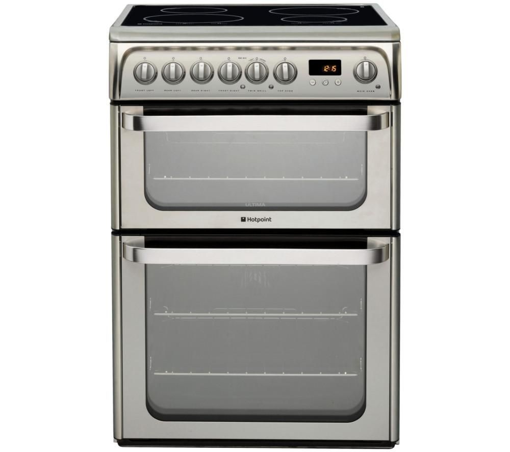 HOTPOINT HUI611 X 60 cm Electric Induction Cooker - Stainless Steel