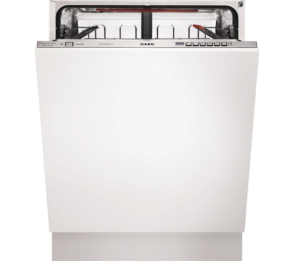 AEG  F67622VI0P Fullsize Integrated Dishwasher