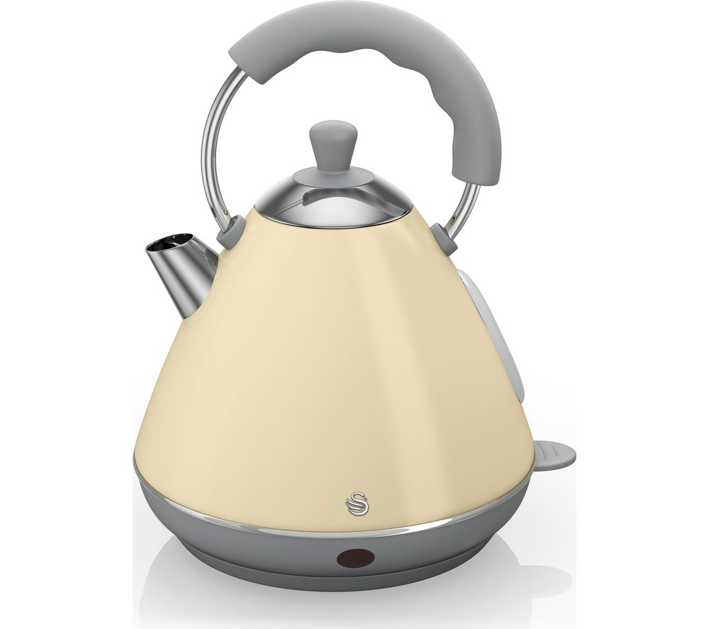 SWAN  Pyramid SK261030CN Traditional Kettle  Cream Cream
