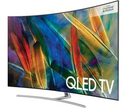 "SAMSUNG QE75Q8CAMT 75"" Smart 4K Ultra HD HDR Curved Q LED TV"