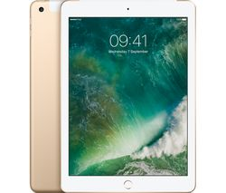 "APPLE 9.7"" iPad Cellular - 128 GB, Gold"