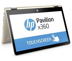 "HP Pavilion x360 14-ba094sa 14"" Touchscreen 2 in 1 - Silk Gold"