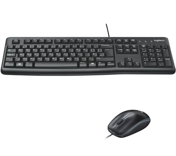 LOGITECH MK120 Keyboard & Mouse Set, Scroll wheel