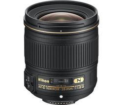 NIKON AF-S NIKKOR 28 mm f/1.8 G Wide-angle Prime Lens
