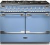 RANGEMASTER Elise SE 110 Dual Fuel Range Cooker - China Blue & Chrome