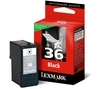 LEXMARK 36 Black Ink Cartridge