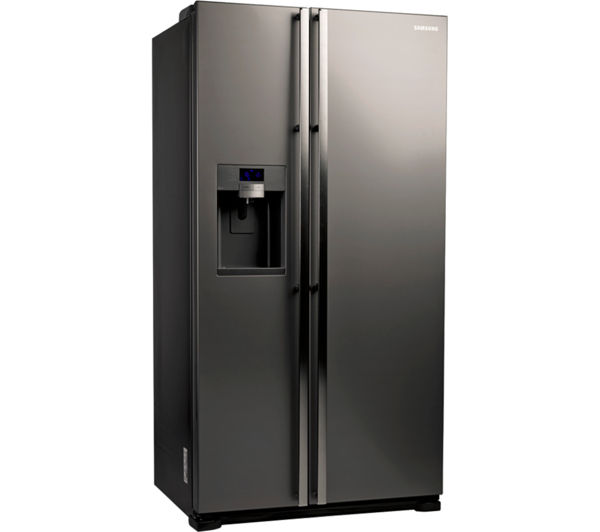 Wonderful What Is An American Fridge Freezer Part - 4: SAMSUNG RSG5UUMH American-Style Fridge Freezer - Manhattan Silver