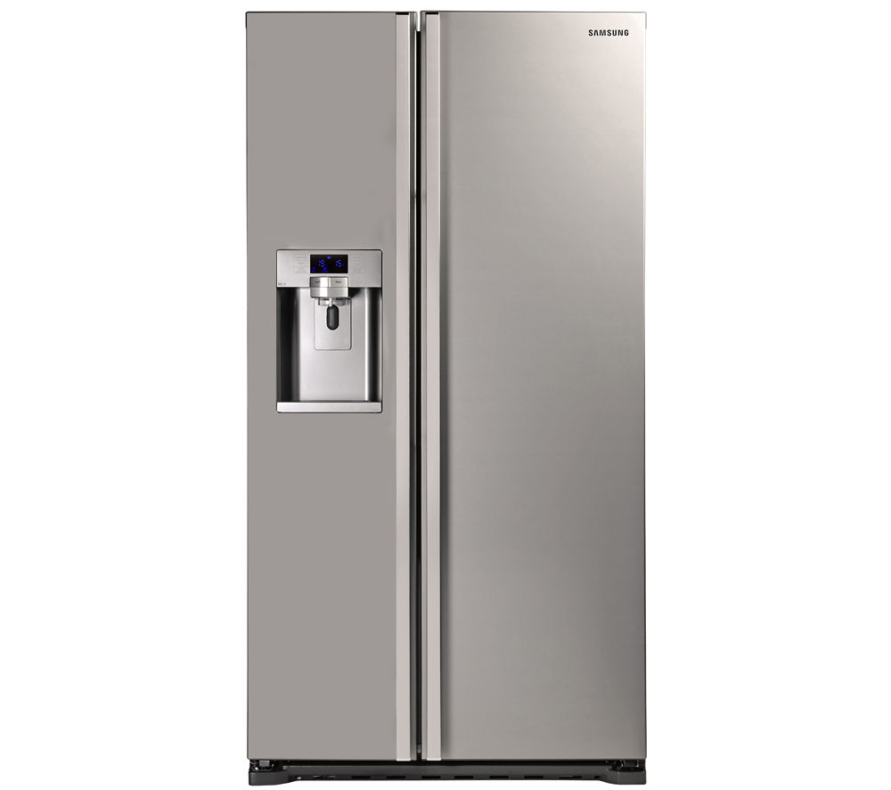 Samsung RSG5UUMH 14.9 cu.ft American Style Fridge Freezer (Manhattan Silver)