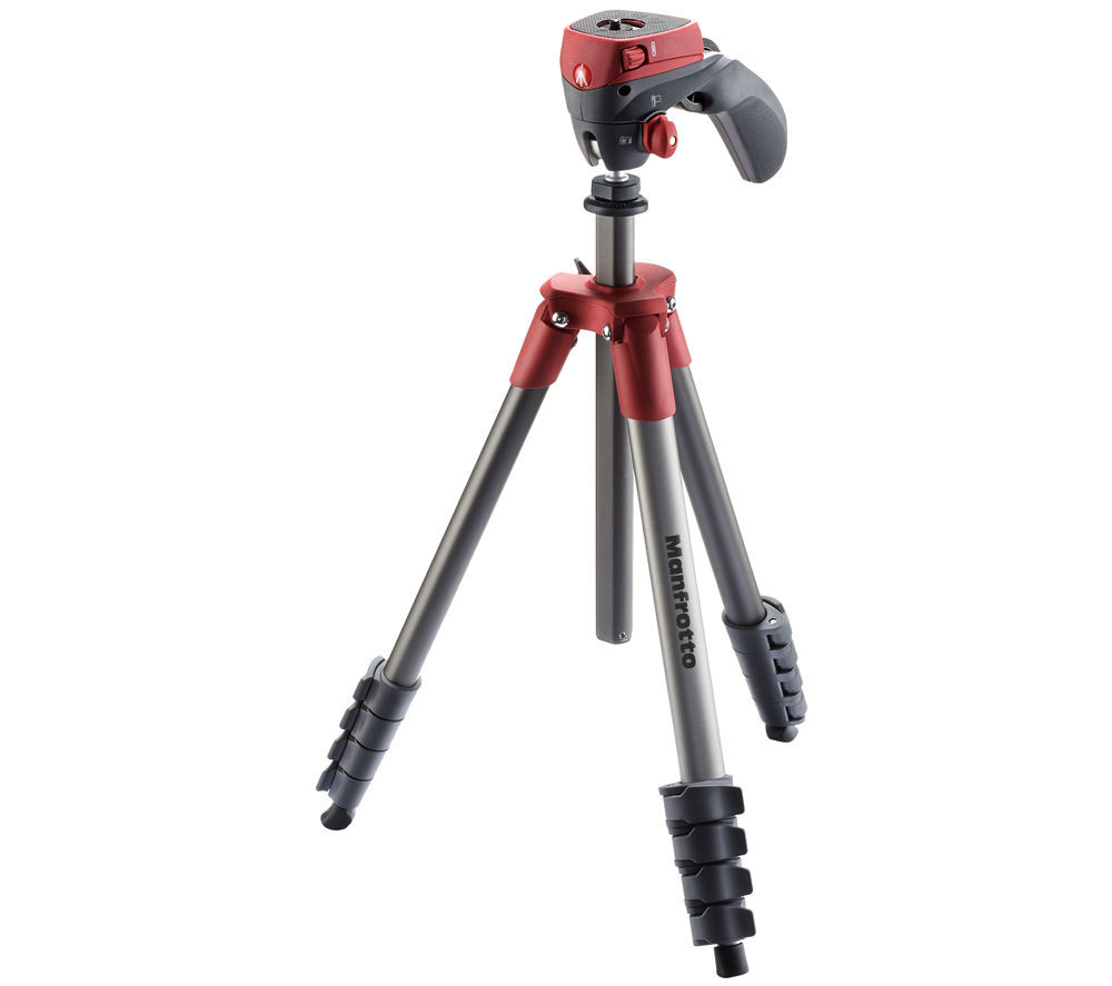 MANFROTTO Compact Action Red Tripod Deals