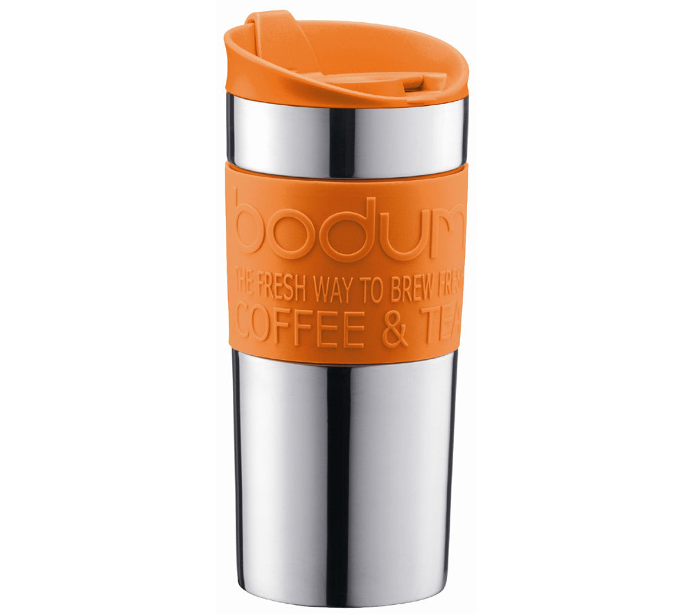 Image of BODUM 11068-106 Travel Mug - Orange, Orange