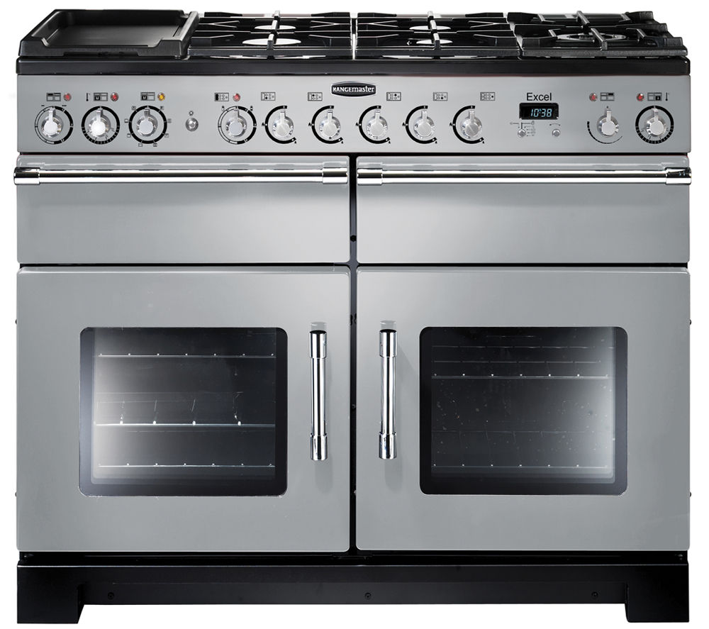 RANGEMASTER Excel 110 Dual Fuel Range Cooker - Royal Pearl