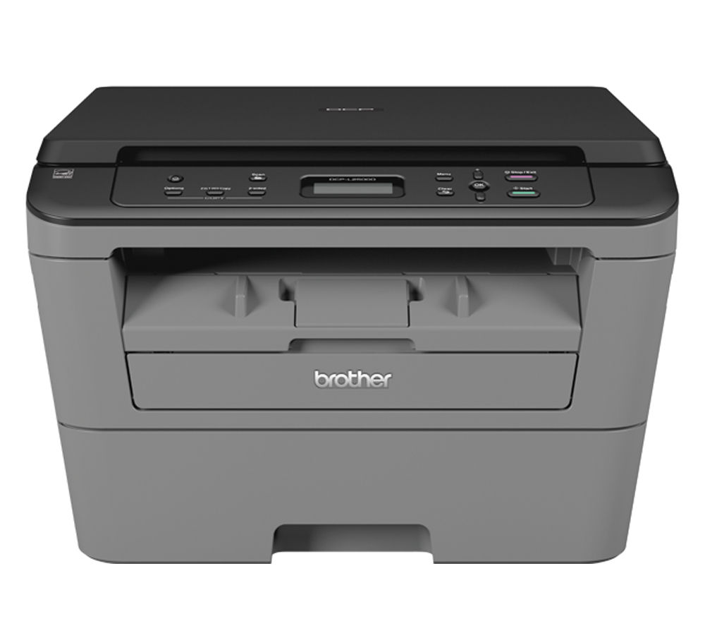 BROTHER  DCPL2500D All-in-One Monochome Laser Printer +  TN2310 Black Toner Cartridge +  A4 Premium Black Label Paper - 500 Sheets